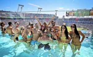 Jaguars Pool - Craziest Party Venues at Sporting Events