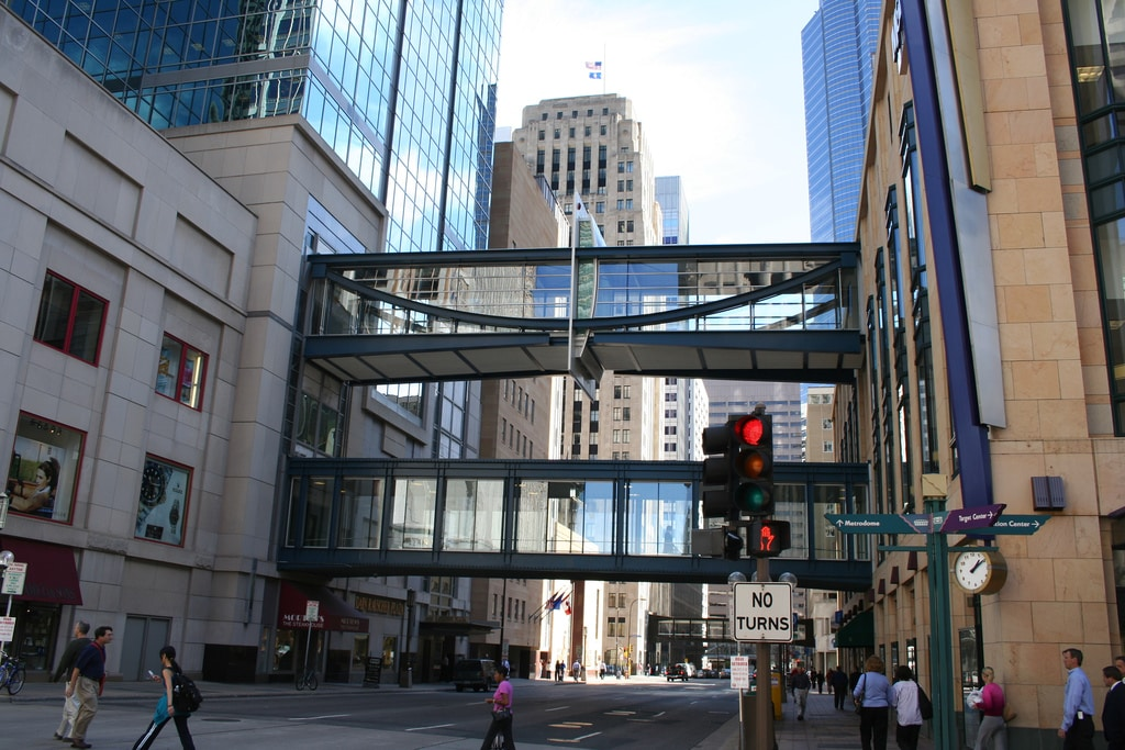 How to Use the Minneapolis Skyway During the Superbowl