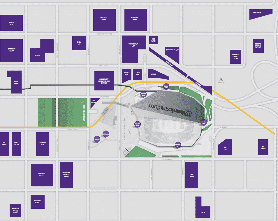 Super Bowl Parking