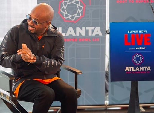 Jermaine Dupri to Pick and Produce Concert Series for Super Bowl Live
