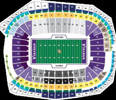 Super Bowl 2018 Seating Chart - Super Bowl Seating | Fan ...